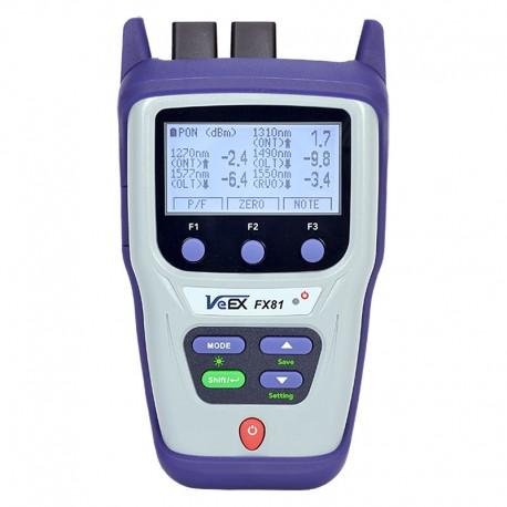 FX81 10G PON Optical Power Meter