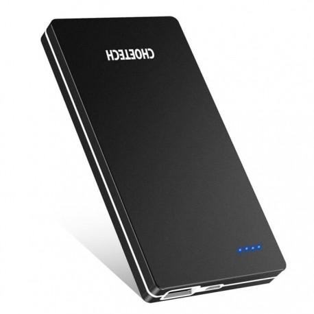 Ultra-thin Portable Charger Power Bank (10000mAh)