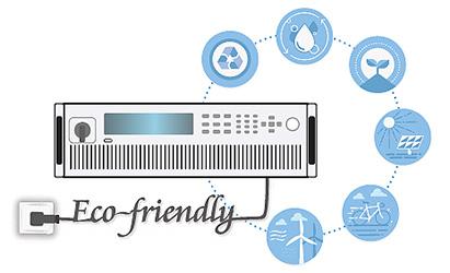 High energy regenerative efficiency