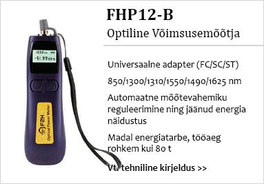 Optiline võimsusemõõtja FHP12-B
